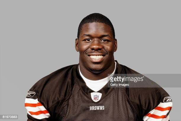Beau Bell of the Cleveland Browns poses for his 2008 NFL headshot at photo day in Cleveland Ohio