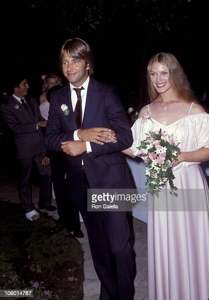 Beau Bridges and Susan Bridges during Cindy Bridges' Wedding August 31 1979 at Bel Air Hotel in Bel Air California United States