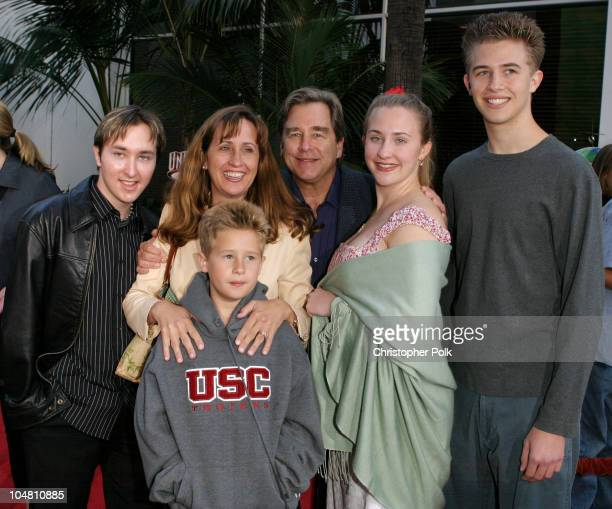 Beau Bridges Family during The World Premiere of Bruce Almighty at Universal Amphitheatre in Universal City California United States