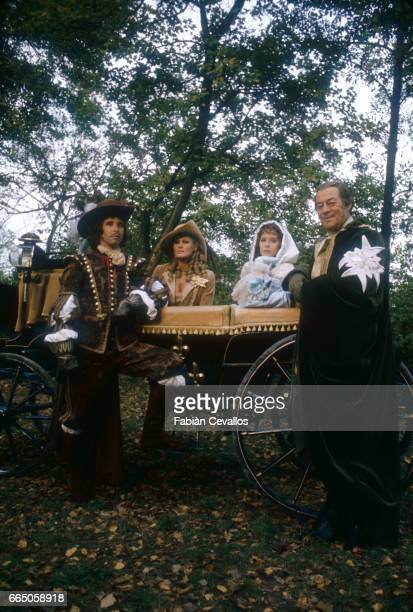 Beau Bridges Ursula Andress Sylvia Kristel and Rex Harrison appear in the 1979 British film The Fifth Musketeer The movie by director Ken Annakin is...