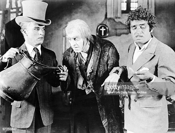 Beau Brummel, in the person of John Barrymore seems to be pretty close to the grave and his chances do not seem imporved by the invasion of Charlie...