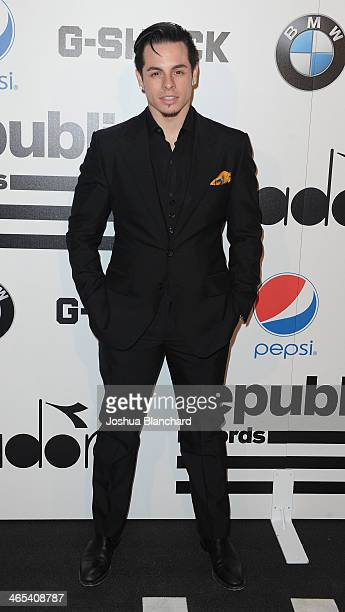 Beau Casper Smart arrives at Republic Records Post Grammy Party at 1 OAK on January 26 2014 in West Hollywood California
