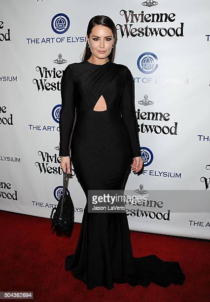 Beau Dunn attends Art of Elysium's 9th annual Heaven Gala at 3LABS on January 9 2016 in Culver City California