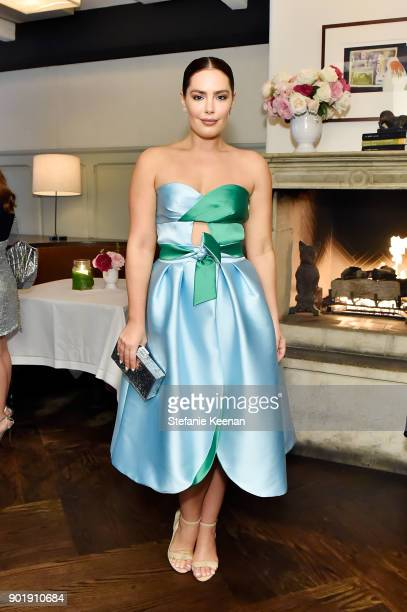 Beau Dunn attends Lynn Hirschberg Celebrates W Magazine's It Girls With Dior at AOC on January 6 2018 in Los Angeles California