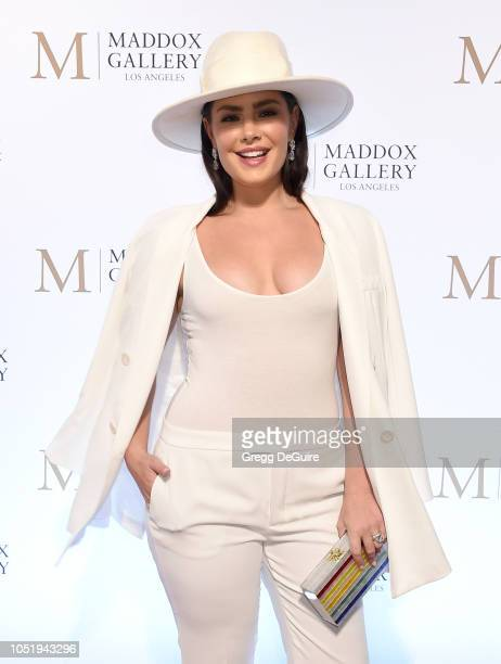 Beau Dunn attends the VIP Opening of Maddox Gallery Exhibition Best Of British at Maddox Gallery on October 11 2018 in Los Angeles California