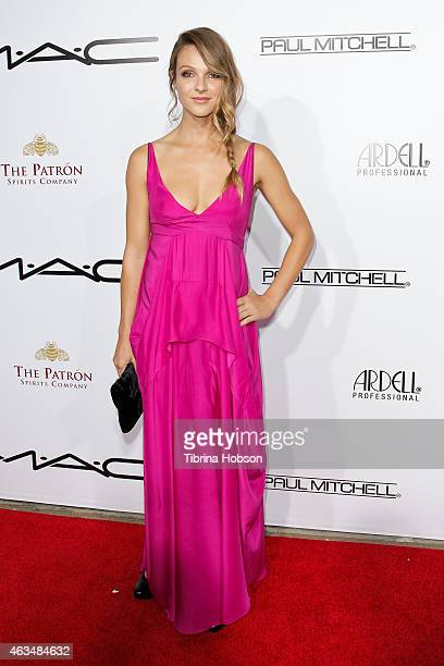 Beau Garrett attends the MakeUp Artists and Hair Stylists Guild Awards at Paramount Theater on the Paramount Studios lot on February 14 2015 in...