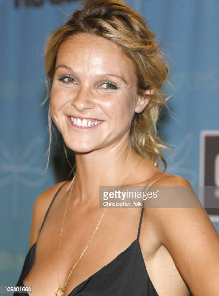 Beau Garrett during 2007 Crystal Lucy Awards Presented by Women in Film Red Carpet at Beverly Hilton Hotel in Beverly Hills California United States
