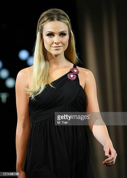 Beau Garrett during Max Factor Salutes Hollywood Fashion Show at Social Hollywood in Los Angeles CA United States