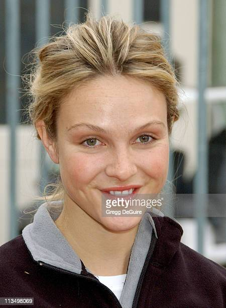 Beau Garrett during The 14th Annual Entertainment Industry Foundation Revlon Run/Walk for Women at Los Angeles Memorial Coliseum in Los Angeles...