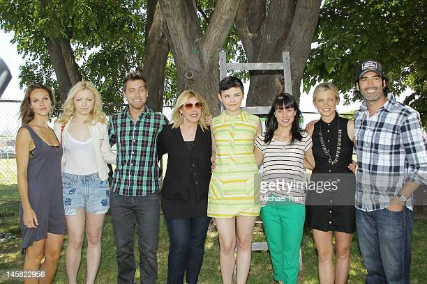 Beau Garrett Francesca Eastwood Lance Bass Debbie Levin Ginnifer Goodwin Constance Zimmer Amy Smart and Carter Oosterhouse attend The Environmental...