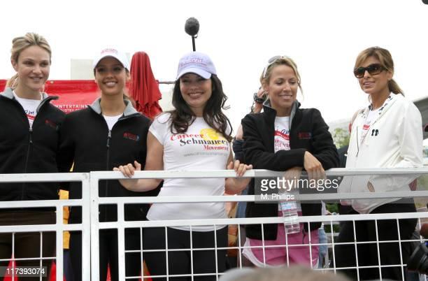 Beau Garrett Jessica Alba Fran Drescher Sheryl Crow and Eva Mendes