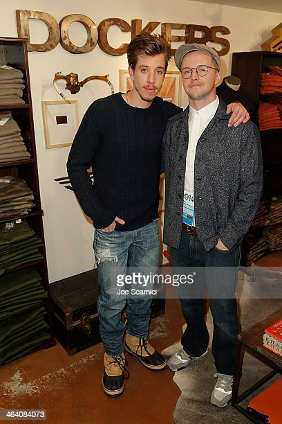 Beau Knapp and William Eubank of The Signal attend The Variety Studio Sundance Edition Presented By Dawn Levy on Day 3 of the 2014 Park City on...