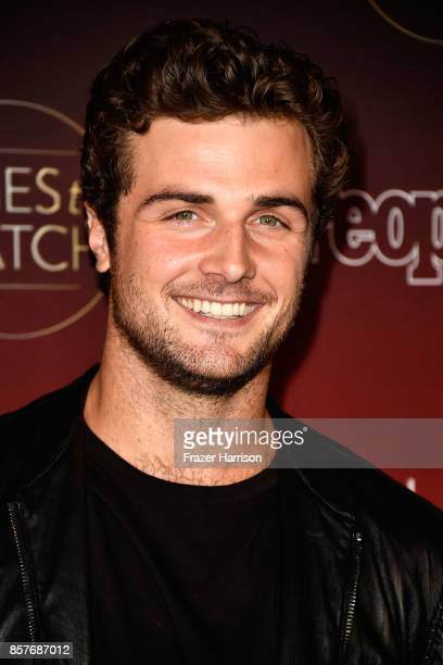 Beau Mirchoff attends People's Ones To Watch at NeueHouse Hollywood on October 4 2017 in Los Angeles California