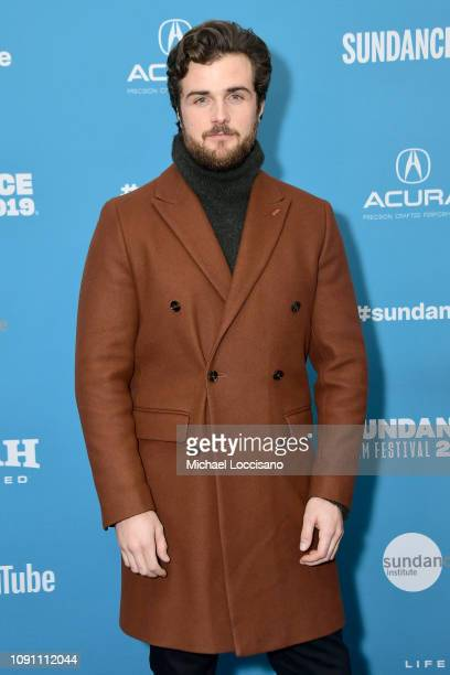 Beau Mirchoff attends the Gregg Araki's New Starz Series Now Apocalypse Premiere during the 2019 Sundance Film Festival at Library Center Theater on...