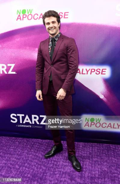Beau Mirchoff attends the 'Now Apocalypse' Los Angeles Premiere at Hollywood Palladium on February 27 2019 in Los Angeles California