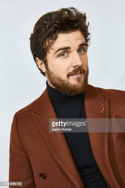 Beau Mirchoff from 'STARZ' Now Apocalypse' poses for a portrait in the Pizza Hut Lounge in Park City Utah on January 27 2019 in Park City Utah