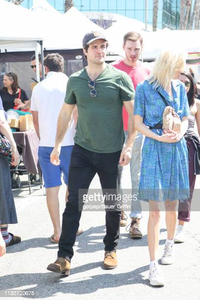 Beau Mirchoff is seen on March 24 2019 in Los Angeles California