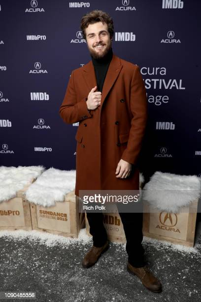 Beau Mirchoff of 'Now Apocalypse' attends The IMDb Studio at Acura Festival Village on location at The 2019 Sundance Film Festival Day 3 on January...