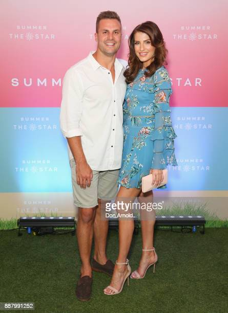 Beau Ryan and Erin Holland attend the Summer The Star Official Launch at The Star on December 8 2017 in Sydney Australia