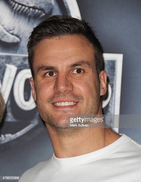 Beau Ryan arrives at the Australian Premiere of 'Jurassic World' at Event Cinemas George Street on June 10 2015 in Sydney Australia