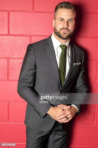 Beau Ryan poses for a portrait backstage at he Footy Show Grand Final edition at Darling Harbour on September 28 2017 in Sydney Australia