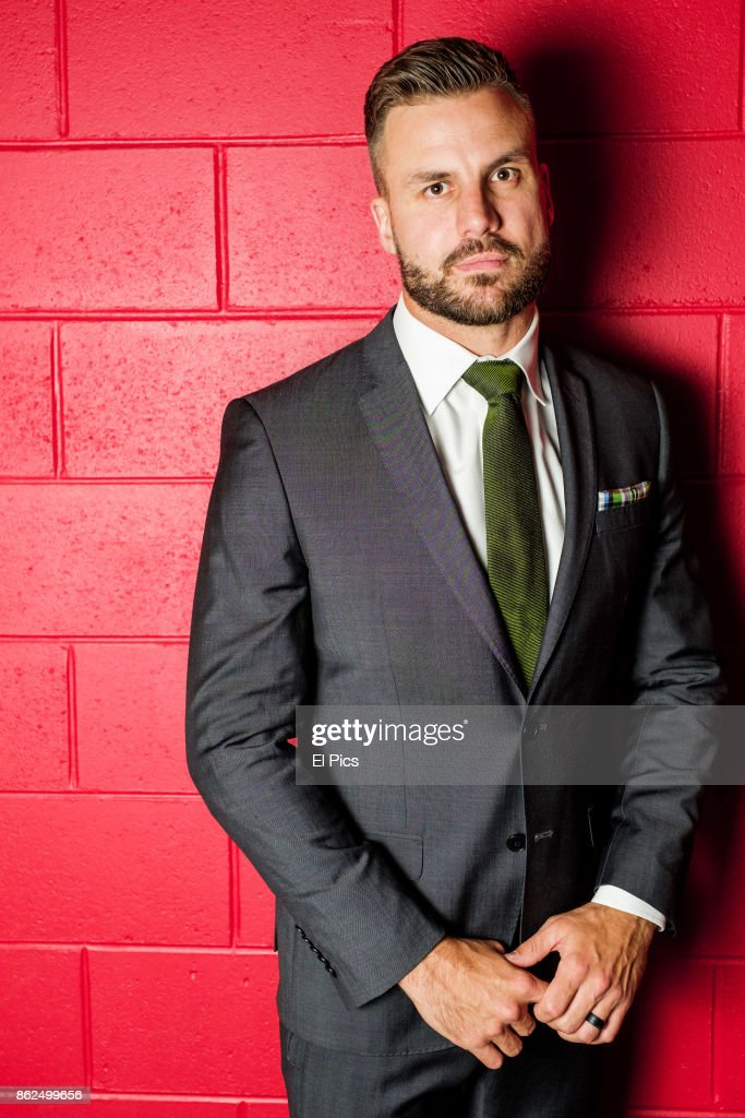 Beau Ryan poses for a portrait backstage at he Footy Show Grand Final edition at Darling Harbour on September 28, 2017 in Sydney, Australia.