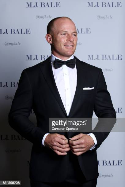 Beau Scott of the Eels attends the MJ Bale Dally M League Of Gentlemen at The Star on September 27 2017 in Sydney Australia