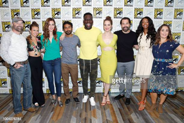 DIEGO Beau Smith Dominique ProvostChalkley Katherine Barrell Varun Saranga Melanie Scrofano Tim Rozon Chantel Riley and Emily Andras attend the...