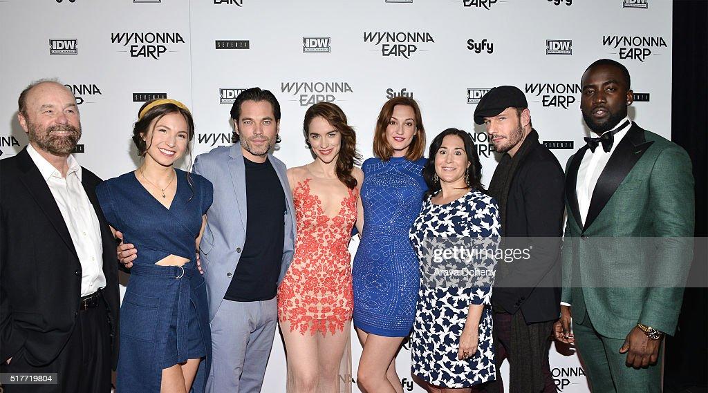 "Premiere Of Syfy's ""Wynonna Earp"" At WonderCon 2016 - Arrivals : News Photo"
