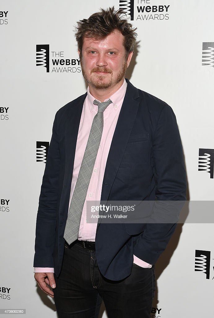 Beau Willimon poses backstage at the 19th Annual Webby Awards on May 18, 2015 in New York City.