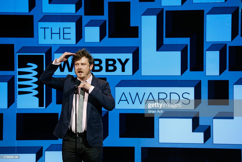 Beau Willimon speaks on stage at the 19th Annual Webby Awards on May 18, 2015 in New York City.