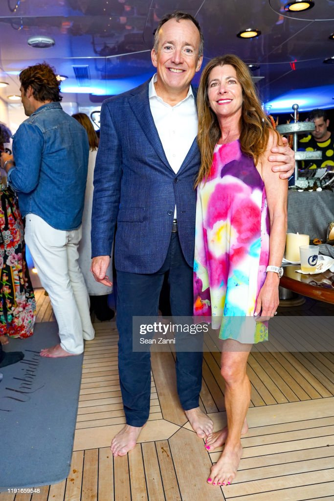 Beau Wrigley And A Guest Attend Sue Hostetler Beau Wrigley Host News Photo Getty Images