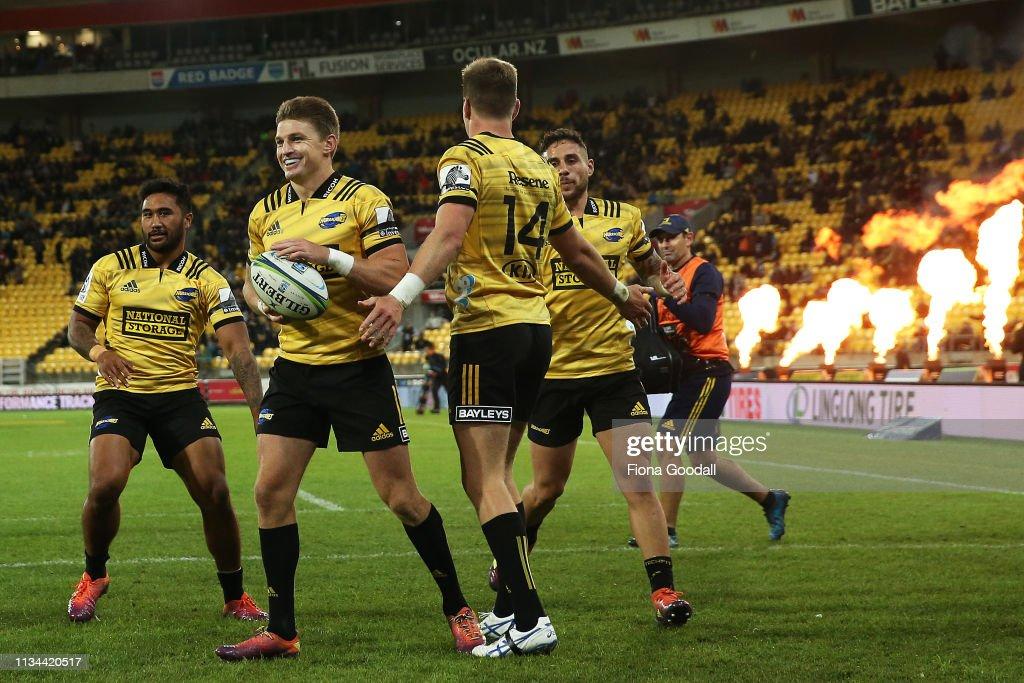 Super Rugby Rd 4 - Hurricanes v Highlanders : News Photo