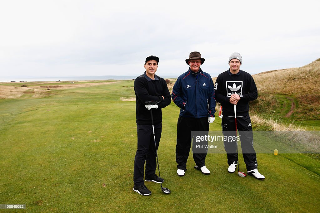 New Zealand All Blacks Play Golf
