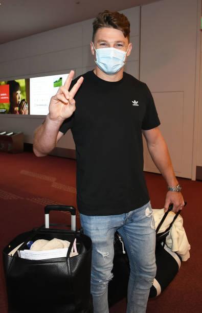 JPN: Beauden Barrett Arrives In Tokyo