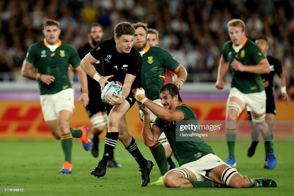 New Zealand v South Africa - Rugby World Cup 2019: Group B : ニュース写真