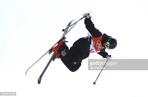 BeauJames Wells of New Zealand competes in the Men's Ski Halfpipe final on day thirteen at Phoenix Snow Park on February 22 2018 in Pyeongchanggun...