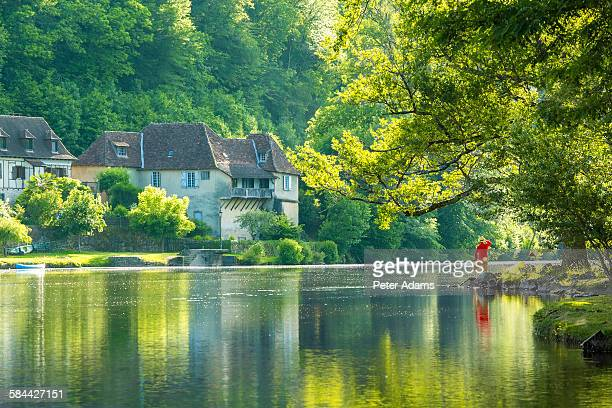 beaulieu sur dordogne, correze, limousin, france - correze stock pictures, royalty-free photos & images
