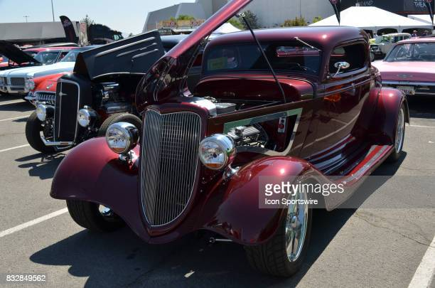 Beautiful 1934 Ford 3window Coupe on display at the Hot August Nights Custom Car Show the largest nostalgic car show in the world on August 11 2017...