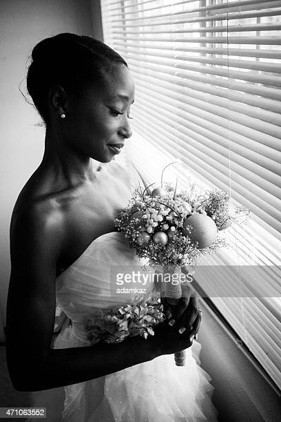 Beautiful African American Bride