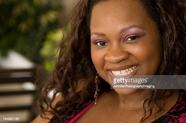beautiful african american woman - images of fat black women stock photos and pictures
