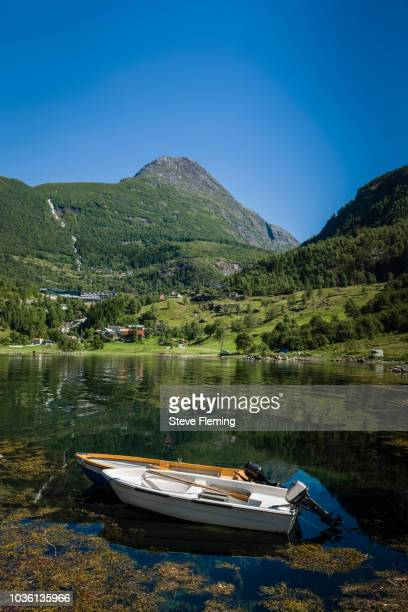 A beautiful afternoon by the side of Geiranger Fjord, Norway.