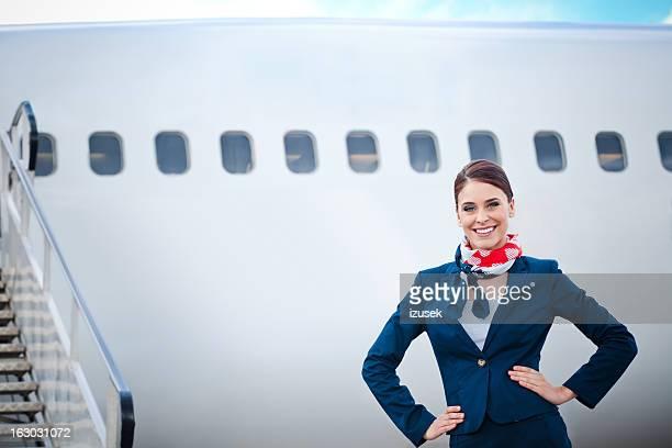 Wunderschöne air stewardess vereinbart werden