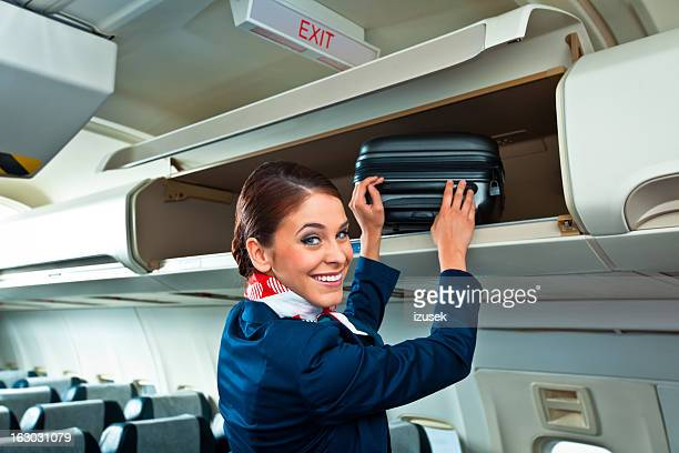 Beautiful air stewardess