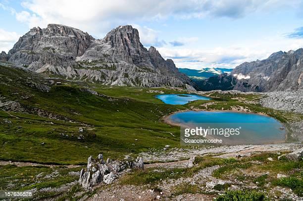 Beautiful alpine lakes