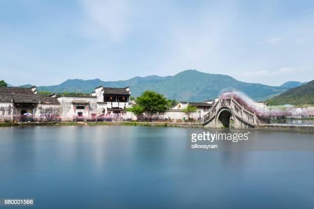 beaux villages antiques dans le sud du anhui
