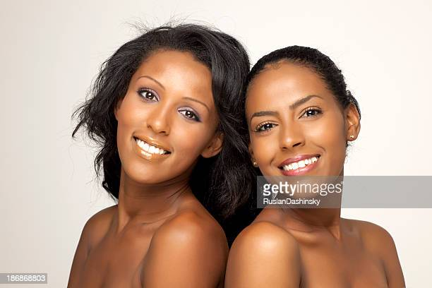 Beautiful and attractive african women.
