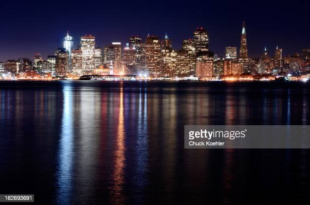 CONTENT] Beautiful and colorful image of the San Francisco Skyline from across the bay