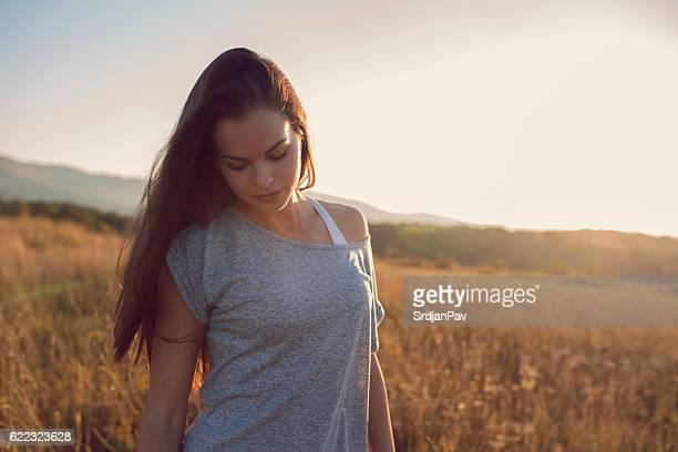 Schöne und natürlichen