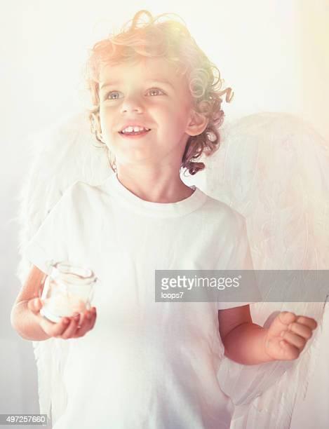 Schöne angel